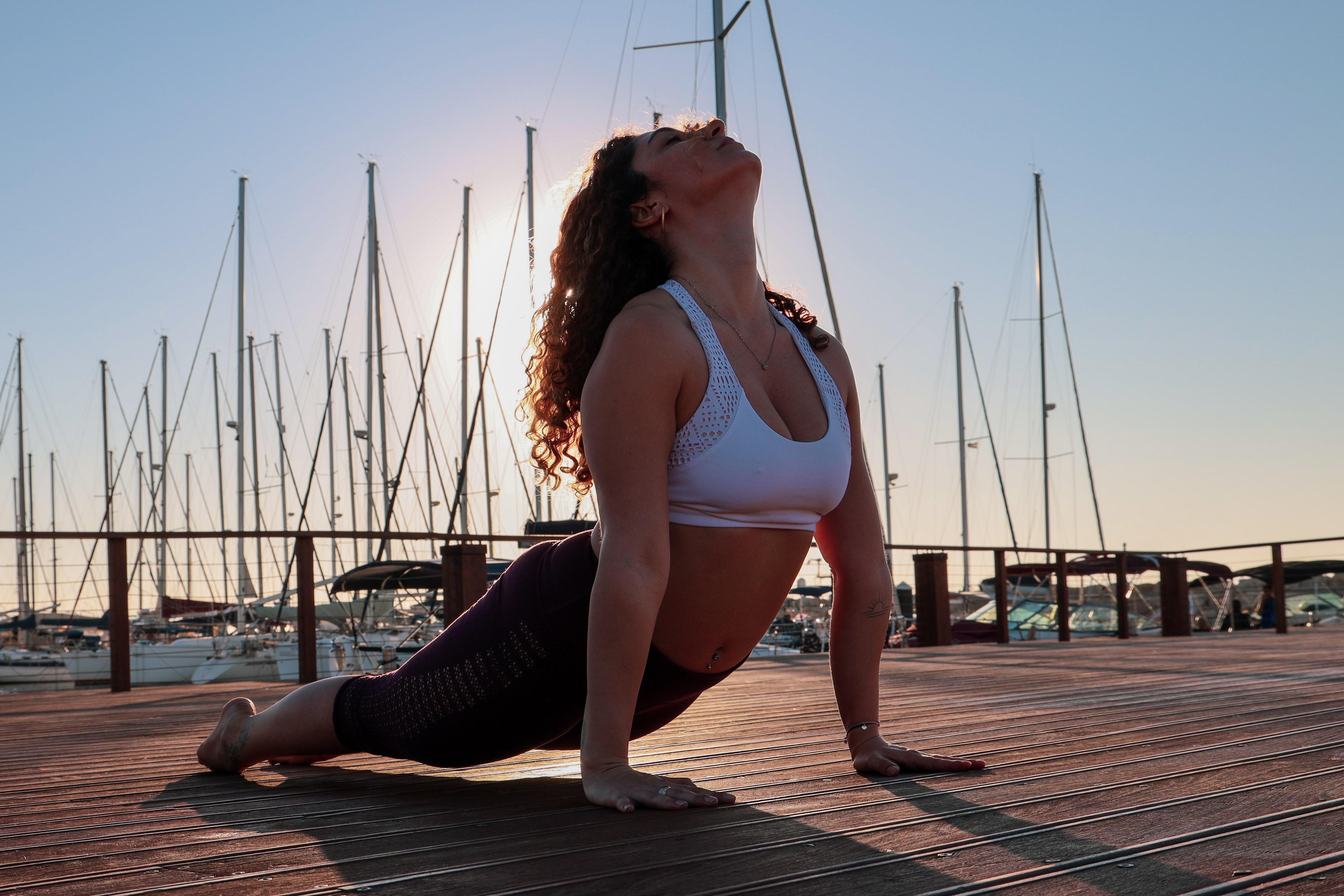 Bhujangasana or Cobra pose of Yoga(Photo by Mor Shani on Unsplash)