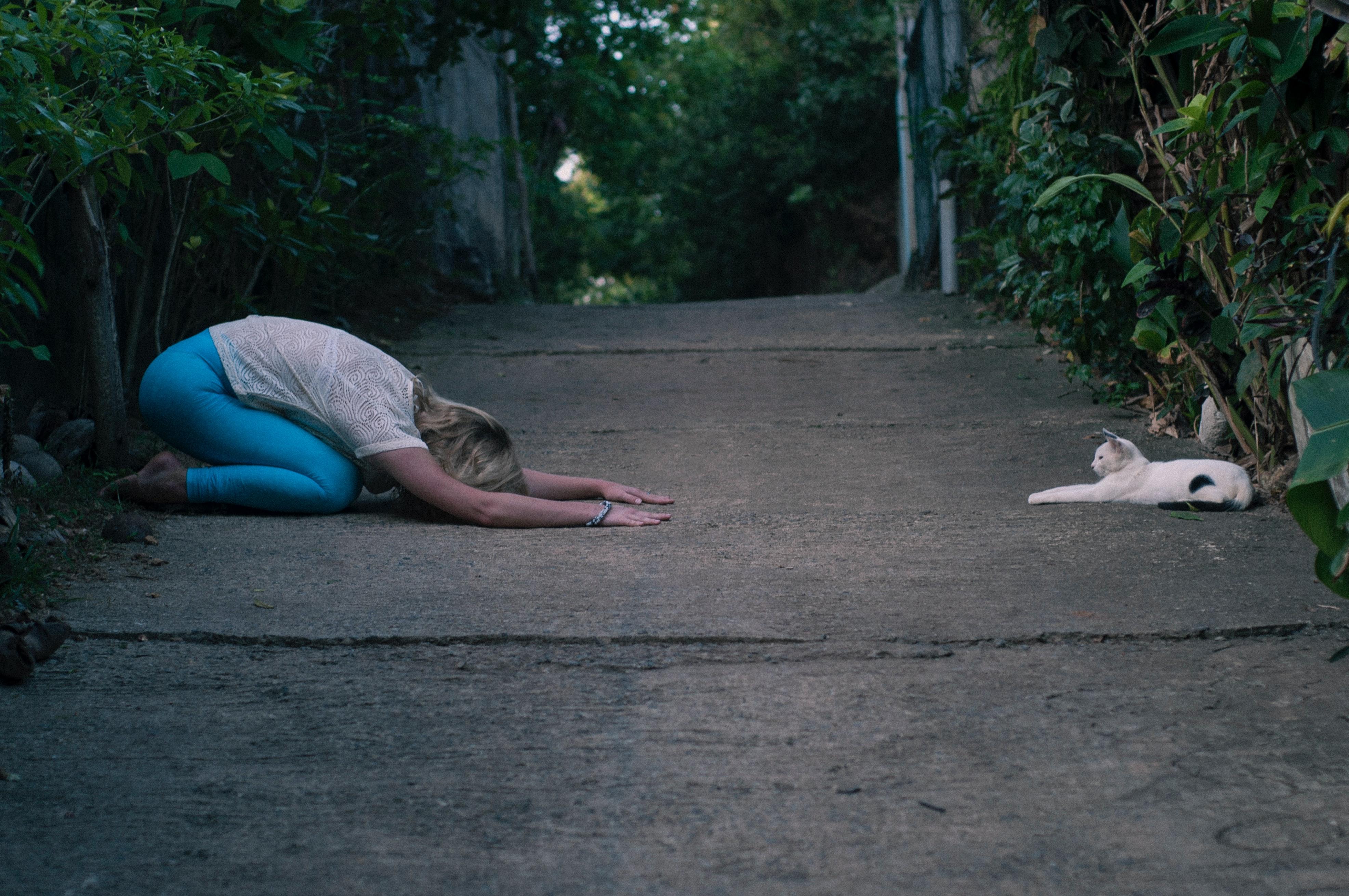 Balasana or Child's Pose or Child's Resting Pose(Photo by Pasha Chusovitin on Unsplash)