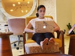 Alia Bhatt in a picture clicked by her sister Shaheen Bhatt.