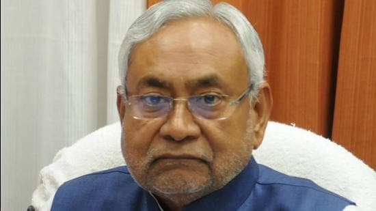 Bihar chief minister Nitish Kumar. (HT archive)