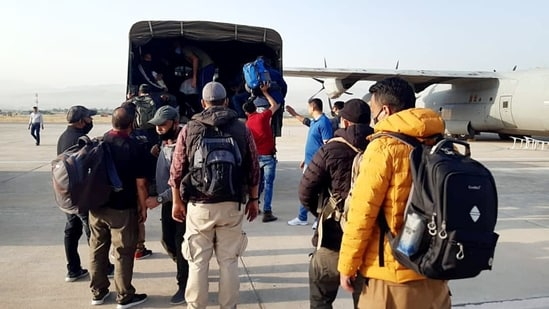 The Union home ministry announced the cancellation of all stamped visas on August 17 and introduced a new category of emergency electronic visas (e-visas) for Afghan nationals in the wake of the Taliban takeover.