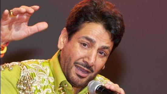 Punjabi singer Gurdas Maan (HT file)
