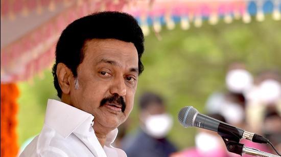 Tamil Nadu chief minister MK Stalin. (File photo)