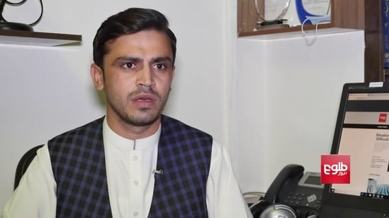 Tolo News reporter Ziar Yaad took to Twitter to confirm that he was beaten up by the Taliban in Kabul while covering a story. (Tolo News)