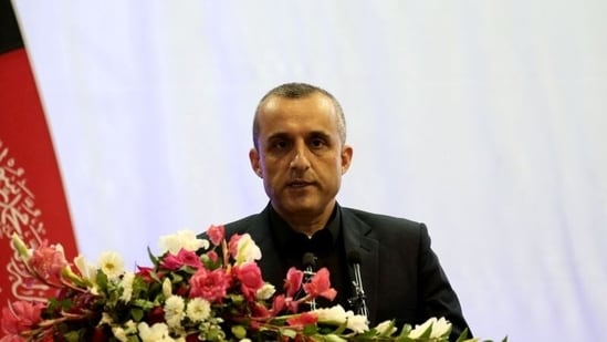 Amrullah Saleh, the acting president of the Islamic Republic of Afghanistan. (File Photo / REUTERS)