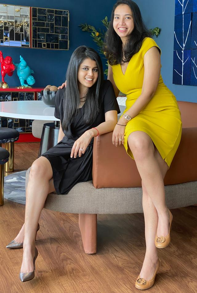 """Natasha Jain and Sonia Agarwal Bajaj started Whiz League to help users build a career and find success in their chosen field. """"We ask speakers to talk about the skill but also about their entrepreneurial journey, and how to develop the right mindset to be successful,"""" says Jain."""