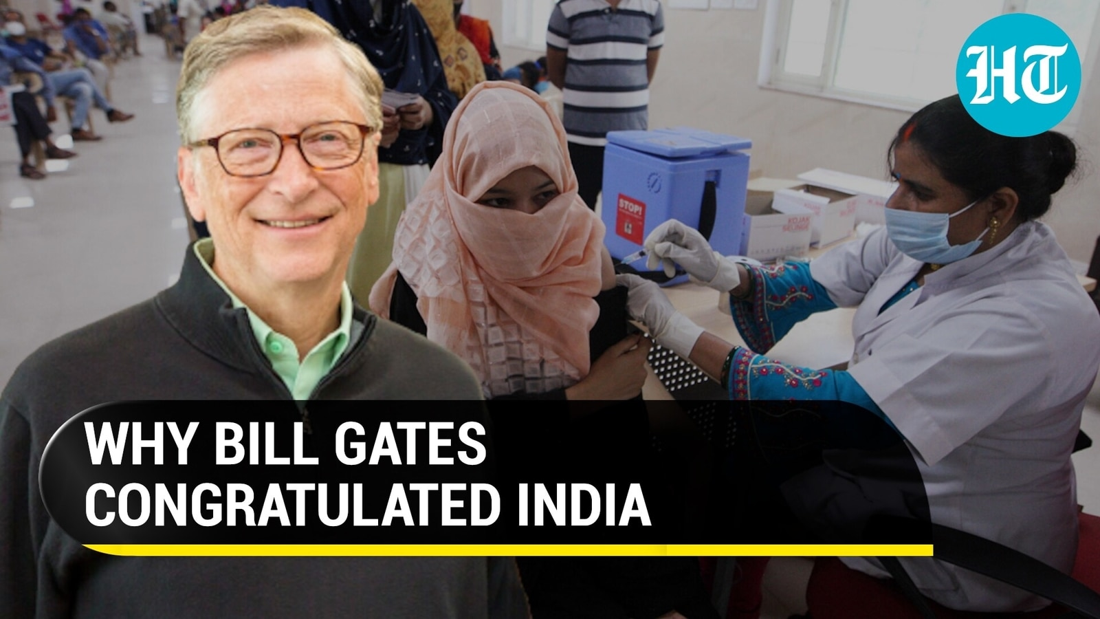 Bill Gates, WHO praise India for 1 crore vaccinations in a day   Covid