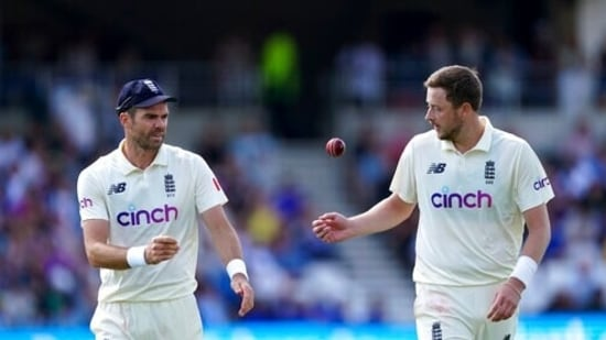 'Spoke to him and just tried to practice it': Ollie Robinson reveals how James Anderson helped him master the art of wobble seam(AP)