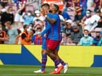 La Liga: Depay leads Barcelona to 2-1 victory over Getafe in Spain(AP)