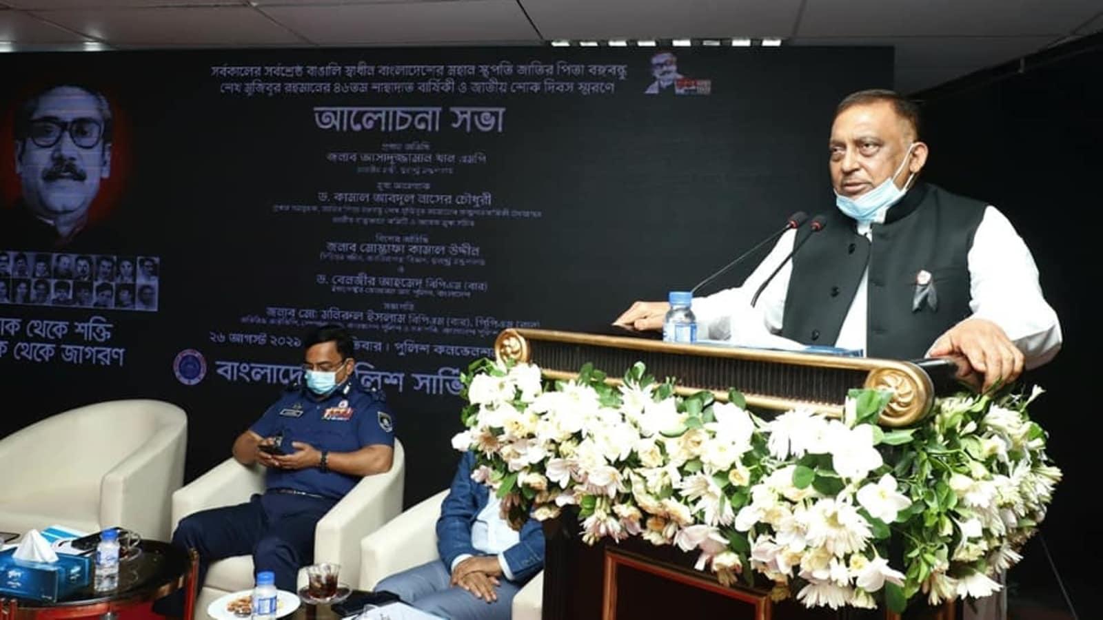 'No existence of Taliban here', says Bangladesh home minister Khan -India News Cart