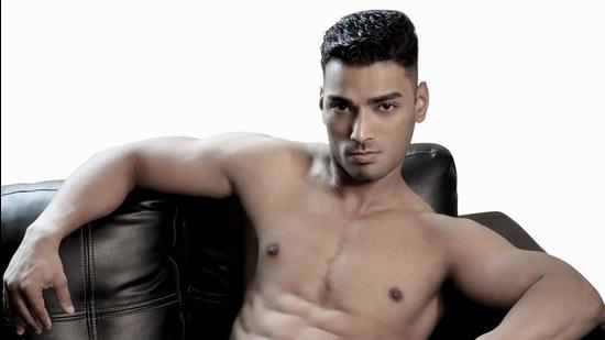 Short and wavy hair is the way to go this season; Model: Neeraj Mehra (a fitness instructor and model originally from Uttarakhand) (Yatan Ahluwalia)