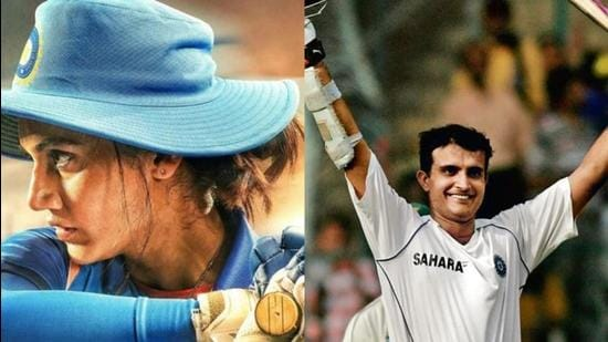 Taapsee Pannu will be seen in Mithali Raj's biopic, while Sourav Ganguly has confirmed a biopic on him.