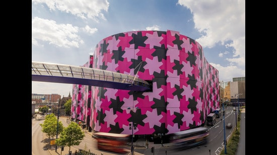 The artwork is like homecoming for the artist as Birmingham is Osman's city of birth
