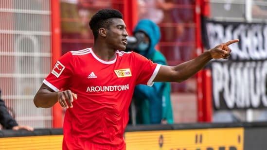 Bundesliga: Taiwo Awoniyi scores winner for Union Berlin to beat Gladbach 2-1(AP)