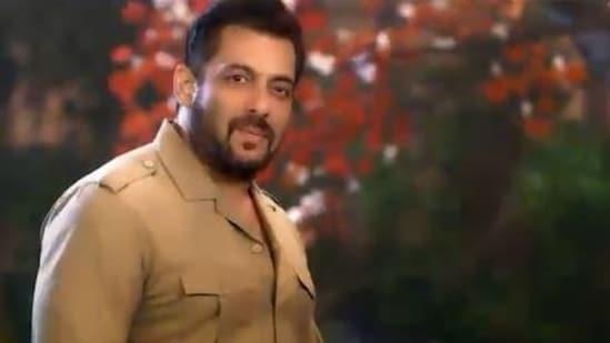 Salman Khan as a forest officer in Bigg Boss 15 promo.
