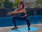 Want to burn fat and hit the grind? Try Yasmin Karachiwala's 7-day intense squats workout(Instagram/@yasminkarachiwala)
