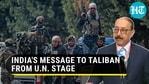 ஹர்ஷ் வர்தன் ஷ்ரிங்லா, ஆப்கானிஸ்தான் (ஏஜென்சிஸ்) மீதான UNSC தீர்மானத்தின் முக்கிய அம்சங்களை எடுத்துரைத்தார்.