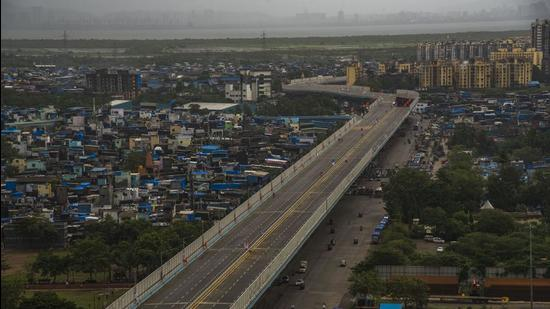 The flyover was inaugurated by chief minister Uddhav Thackeray on August 1. (HT File)