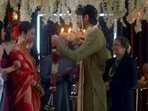 Ankita Lokhende and Shaheer Sheikh in a still from Pavitra Rishta 2 trailer.