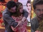 Raqesh Bapat consoles Shamita Shetty after she nominated herself on Bigg Boss OTT.