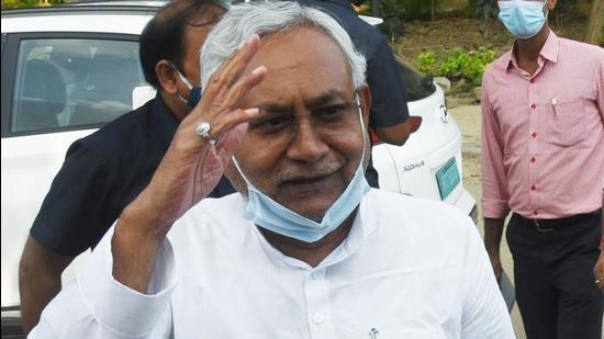 Bihar chief minister Nitish Kumar. (ANI)