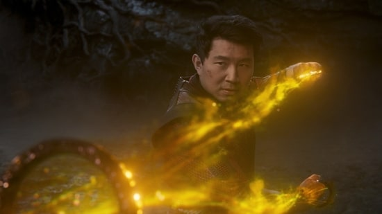 Shang-Chi and the Legend of the Ten Rings movie review: Simu Liu in a scene from the new Marvel movie.(AP)