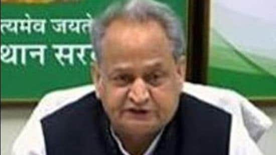 """Rajasthan CM Ashok Gehlot's tweets on Friday and Saturday suggested he was told by doctors that the artery blockage was a """"Post-Covid"""" development. (ANI)"""