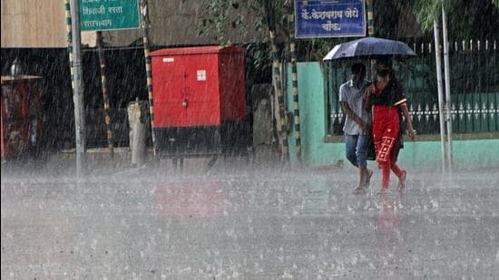 The lowest rainfall received by Pune in August was reported in 2015, at 24.7 mm. (Ravindra Joshi/HT PHOTO)