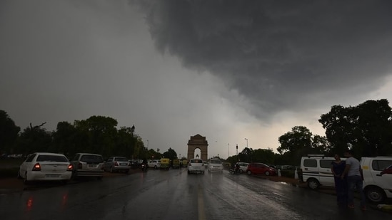 Delhi rains: The heavy downpour is set to continue in the national capital on Wednesday, September 1. (File Photo / HT)
