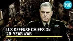 Top US general on Afghanistan: 'How we got to this moment will be studied for years'