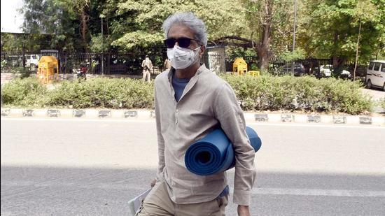 Civil rights activist Gautam Navlakha is one of the accused in the Elgar Parishad case. (HT FILE)