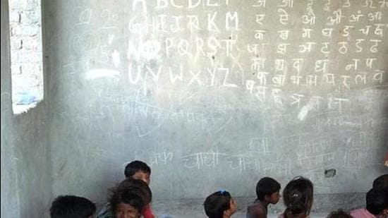 PA Chhattisgarh school teacher was suspended for punishing students who observed a fast on Janmashtami. (HT Photo (Representative Image))