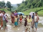 There are nearly 400 children of Myanmar refugees who fall in the age group of six to 14 years(Lawngtlai district administration)
