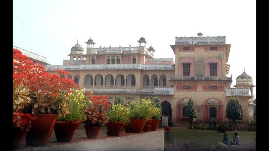 The Allahabad University campus (HT FIle Photo)