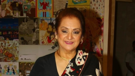 Saira Banu is currently admitted to a hospital.