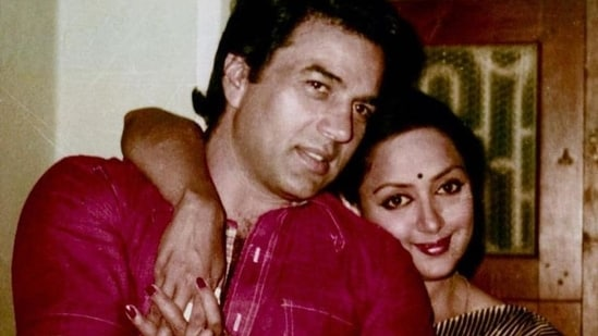 Hema Malini and Dharmendra tied the knot in 1980.