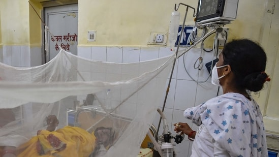 UP CM Yogi Adiyanath on Thursday told authorities to assign a nodal officer in each district to monitor the spread of the fever.(AFP file photo)