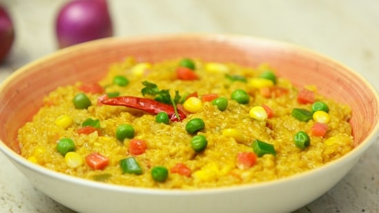 National Nutrition Week recipe: Try this Moong dal khichdi for lunch or dinner(Whirlpool of India)