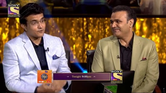 Sourav Ganguly and Virender Sehwag will be the first celebrity guests on Kaun Banega Crorepati 13.