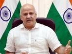 Delhi's deputy chief minister Manish Sisodia. (HT Photo)