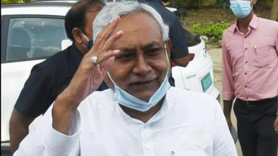 File photo: Bihar chief minister Nitish Kumar. (ANI)