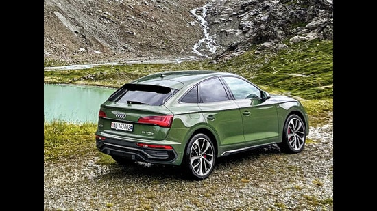 The Audi Q5 Sportback is a plug-in hybrid with a conventional 2-litre petrol engine