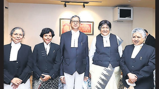 Prefer 50% women at all judicial levels: CJI Ramana | Latest News India - Hindustan Times