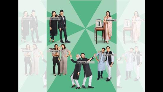 Five successful individuals pay tributes to mentors who guided them along the way; Styling by Tanya Aggarwal; (Clockwise from top left) On Saby: Jacket, Dhruv Vaish; pants, Uniqlo; white shirt, US Polo; shoes, Croc and Jones; hat Zara; On Megha: Chikankari suit, Local market in Jaipur; shoes, Bata; earrings, Zariin; On Sonam: Salwar suit, Raw Mango; juttis, Needle Dust; earrings, Zariin; On Sangam: Kurta & vasket, Fab India; jeans, Lee Cooper; shoes, Bata; On Dikshu: Kurta , pants and Vasket, Ashish Sharma; watch, Breitling; belt, Louis Vuitton; shoes, Jimmy Choo; On Rahul: Sherwani and Pants, Amit Wadhwa; shoes, Da Milano; On Sunil: Black sherwani, Rajesh Pratap; sandals, Rohit Bal; glasses, Indie Eye; On Shagun: Co-ord set, Zara; earrings, Tholias Kuber; shoes, Sergio Rossi; watch, Hublot; On Suhanya: Shirt, Cheena Singh Studio; pants, Zara; heels, Rosso Brunello; bracelet, Cartier (Vinod Aggarwal)