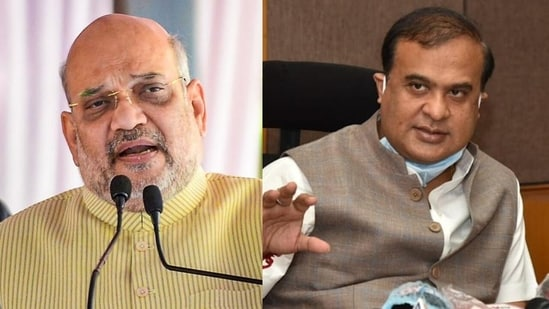 Home minister Amit Shah and Assam chief minister Himanta Biswa Sarma are expected to attend the 'Karbi Peace Accord' signing today.(File Photos / PTI)