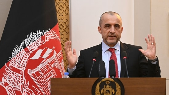 Amrullah Saleh wrote a letter to the UN, seeking help against the Taliban.(AFP File Photo)