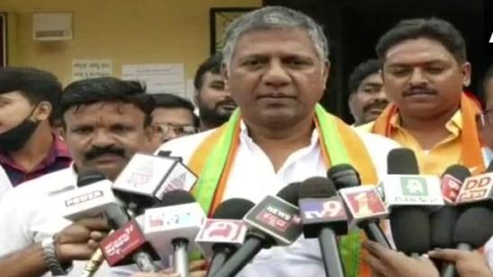BJP MLA Arvind Bellad. (ANI Twitter)