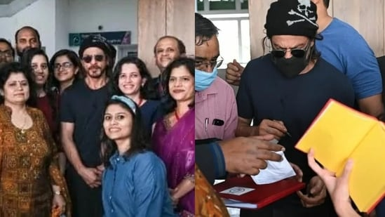 Shah Rukh Khan is currently in Pune, reportedly filming for Atlee's next.