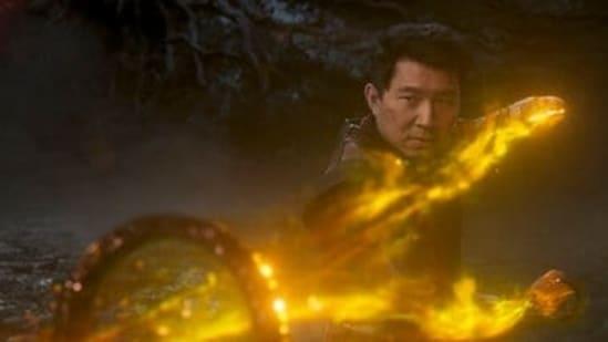 Simu Liu in Shang-Chi And The Legend Of The Ten Rings.(Marvel Studios, via AP)