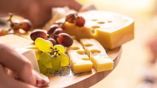 Add cheese. A Small amount of cheese does no harm. It's an additional protein and there are so many available in the market. Crush them with your hands and sprinkle on the salad or grate them and use. You could also chop them into cubes and mix with the salad gently.(Pixabay)